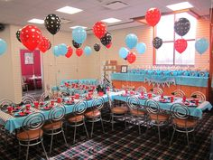 One of our birthday party set ups- we LOVE this look! 5th Birthday, Birthday Parties, First Holy Communion Cake, Party Like Its 1999, Bowling Party, Holi, Party Ideas, Entertaining, Fun