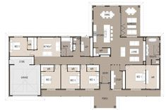 Stirling Floor Plan | Green Homes Australia | Energy Efficient Home Design