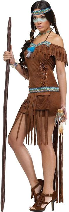 women's costume: medicine woman