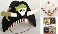 Our Meri Meri party wares for our pirate party