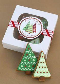 Christmas Trees, Gingerbread, and a Giveaway... » Glorious Treats