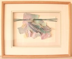 Beautiful Vintage Mixed Media Art / 1988 / Signed by the by POTUKS