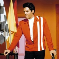 Elvis Presley's red jacket in SPEEDWAY (1968)