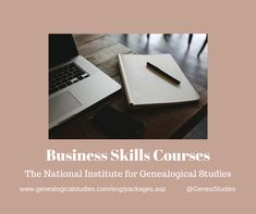 The National Institute for Genealogical Studies @GeneaStudies #genealogist #skillbuilding Career Options, Business Opportunities, Career Development, Professional Development, List Of Courses, Study Organization, Creating A Business, Research Projects