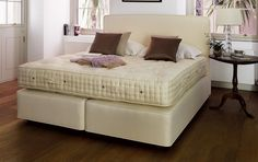 VISPRING Classic Superb | #luxury #bespoke #beds #mattresses #cashmere #wool #organic #cotton #comfort #sleep