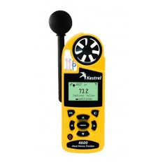 The Kestrel 4600 Heat Stress Tracker with Compass provides two vital functions in one unit. Determine appropriate exposure to heat stress conditions for occupations with heavy gear requirements, such as HAZMAT response and firefighting, AND utilize wind speed and direction for plume prediction and modeling.