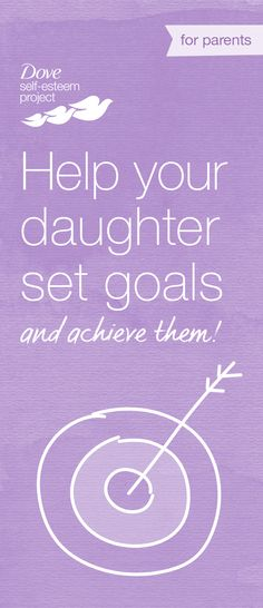 One of the best ways for a girl to grow into a confident young woman who can achieve her goals is knowing her own potential and limits. She will benefit from knowing how she operates in the world and can craft a recipe for success that takes that into account. Who better to help her than the people who know her best? For more self-esteem articles, activities, and advice—head to www.pinterest.com/selfesteem. #SelfEsteemProject