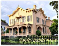 New Orleans Garden District Home, New Orleans Homes and real estate