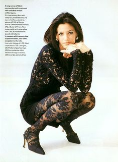 The Navy Lark Vogue UK, April 1994 Photographer: Arthur Elgort Model: Shiraz Tal Valentino, Spring 1994