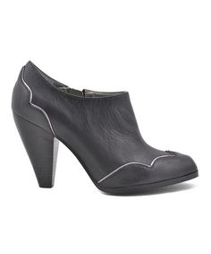 Take a look at this Black Tegan Bootie by VOLATILE on #zulily today!