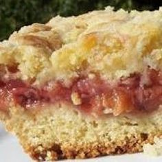 Strawberry Rhubarb Coffee Cake  Make Money On Pinterest Free E-Book  http://pinterestperfection.gr8.com/