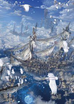 Reishin #Sci-fi #fantasy #illustration                                                                                                                                                      More