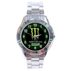 Monster Energy Logo Sport Metal Watch
