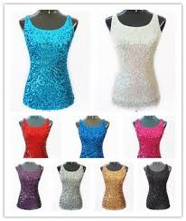 summer bling -sequin tanks tops dress them up or down -pretty no matter how worn...