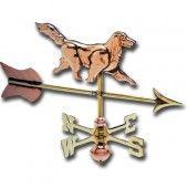 Dog 3-D Cottage Copper Weathervane
