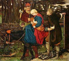 "John Roddam Spencer Stanhope (British, 1829-1908), ""The Holy Family""   Flickr - Photo Sharing!"