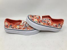 ca4b4a4010 VANS AUTHENTIC FLORAL POP LIVING CORAL ATHLETIC SKATE KID S SIZE 11.0 NEW  WOB  fashion  clothing  shoes  accessories  kidsclothingshoesaccs   unisexshoes ...