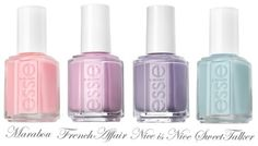 I adore essie nail polish. I have Sweet Talker, but I wouldn't mind nabbing the other three colors.
