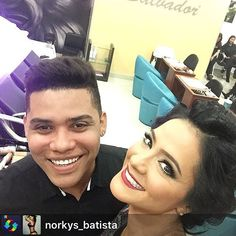 Para mí siempre será un placer atenderte mi querida amiga Hermana de la  vida @norkys_batista orgulloso de ti a mil por ser una mujer luchadora guerrera ejemplar y sobre todo una mujer humilde de corazón eres grande por eso te pasan tantas cosas maravillosas  y las que faltan decretado  salud por tu triunfo de anoche  #panama #venezuela #moda #makeup #makeovers #makeupartis #makeuplover #makeupbyjordycharles #cool #work #look #labios #labial #sonbras #style #stylish