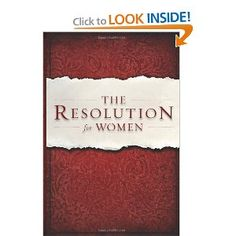 The Resolution for Women by Priscilla Shirer -- was really blessed, challenged, and inspired by this book!