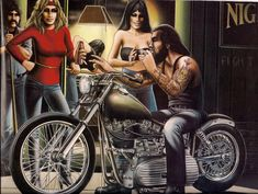 Flesh and Relics: The Art of the Ride: a Tribute to David Mann