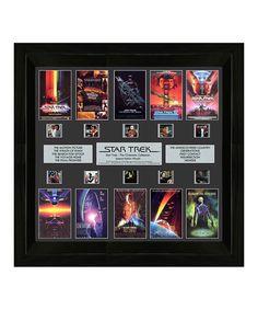 Look what I found on Star Trek Through the Ages FilmCells™ Framed Wall Art Khan Star Trek, Star Wars, Frames On Wall, Framed Wall Art, Star Trex, Hobbit An Unexpected Journey, Star Trek Generations, X Movies, Movie Reels