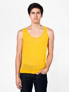 Yellow: American Apparel - See Thru Tank