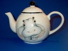 Hippopotamus is simply great. This funny teapot from Arthur Wood ...