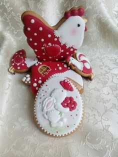 Easter cookies by Svetlana Inspired by Wild Rose Studio animations