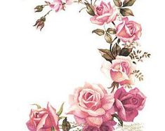 ideas tattoo rose outline arm ink for 2019 Love Flowers, Vintage Flowers, Vintage Pink, Vintage Paris, Wedding Vintage, Beautiful Flowers, Vintage Style, Rose Tattoos, Flower Tattoos