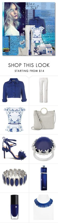 """""""Wish it,dream it,do it..."""" by nannerl27forever ❤ liked on Polyvore featuring Poesia, Whiteley, WALL, MET, Hobbs, LC Lauren Conrad, Eddie Borgo, New Directions, Christian Dior and Lancôme"""