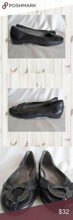 "NWOB Aerosoles Women's Rebecca Flats Black Leather Aerosoles, Women's ""Rebecca"" Flats, Black Leather, Size 8.5M with Memory Foam insole. NWOB.  Smoke and pet free home  (S22-PM,EB) AEROSOLES Shoes Flats & Loafers"