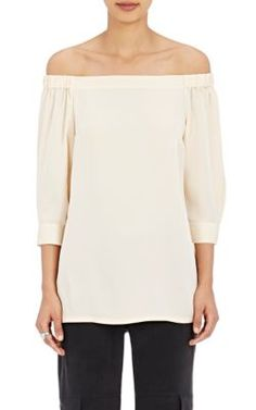Theory Joscla Off-The-Shoulder Top at Barneys New York