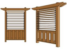 Pergola Over Front Door Code: 1834245611 Hot Tub Privacy, Privacy Panels, Privacy Fences, Fencing, Pergola Swing, Pergola Plans, Diy Pergola, Pergola Kits, Pergola Cover