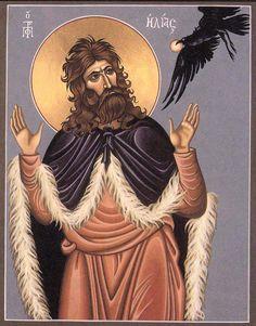 V. Hide thyself by the torrent of Carith, and there thou shalt drink of the torrent; I have commanded the ravens to feed thee there. (Carmelite Proper)