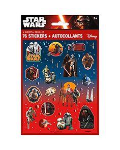 Star Wars Episode 7 The Force Awakens Sticker Sheets, Star Wars Droides, Star Wars Disney, Star Wars Store, Star Wars Party Favors, Star Wars Party Supplies, Jouet Star Wars, Star Wars Birthday Cake, 8th Birthday, Anniversaire Star Wars