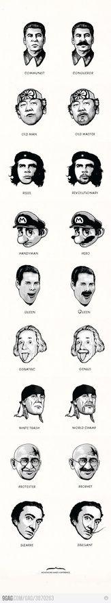 Moustache~ trueisms-funnies