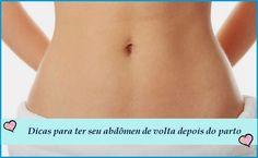 A gravidez é uma fase da vida da mulher que implica o crescimento da barriga. É assim normal que, após o parto, com a barriga a gradualmente voltar ao seu