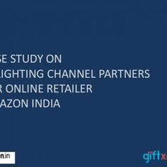 CASE STUDY ON DELIGHTING CHANNEL PARTNERS FOR ONLINE RETAILER AMAZON INDIA   OBJECTIVE & CHALLENGES • A special product that will excite majority of D. http://slidehot.com/resources/case-study-on-channel-partners-amazon.10062/