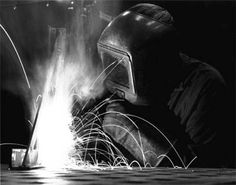 This picture show my love of welding and my career interest
