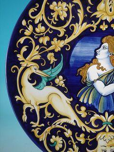 Beautiful renaissance pottery
