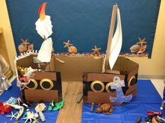 Preschool Ideas For 2 Year Olds: Preschool pirate ship project