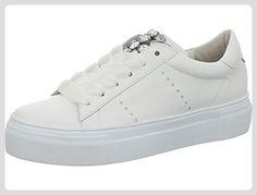 Kennel und Schmenger Plateau Sneaker Größe 38.5 Bianco/Crystal White - Sneakers für frauen (*Partner-Link)