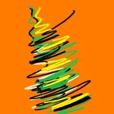 Orange multicolor Orange, Artwork, Abstract, Hooded Sweatshirts, Cowls, Art, Work Of Art, Auguste Rodin Artwork, Summary