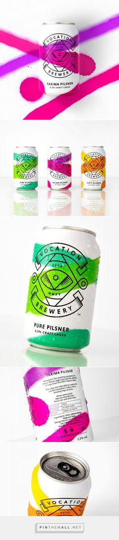Vocation Craft Lagers | #graphicdesign #typography #type #font #inspiration #goodtype #handdrawntype #lettering #drawing #handletter #print #sketch #art #illustration #logo #logotype #beer