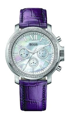 Hugo Boss Ladies Chrono Chronograph for Her With crystals >> $459.95 << | Your #1 Source for Watches and Accessories