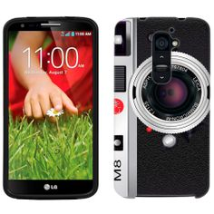 LG G2 Vintage M8 Silver Camera Phone Case Cover $8.90