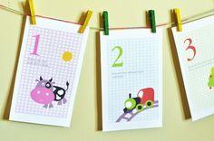 Preschool Basics: Printable Number Rhymes - Kids Activities | Saving Money | Home Management | Motherhood on a Dime
