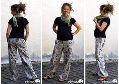 """Yva R.: Freebook: Sommerhose """"Flotte Beinfreiheit"""""""