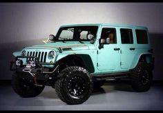 Love the color! dream jeep!